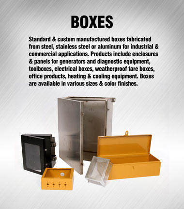 Application Solution: Boxes and Enclosures