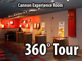 Cannon Experience Room – 360° View