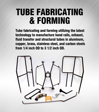 Application Solution: Tube Fabricating and Forming
